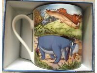 2011 Disney Classics Winnie The Pooh Mug - 'Winnie Stuck In Door' Collectable