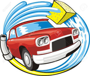 CAR CLEANING, SHAMPOOING, WASH N' WAX, MOBILE