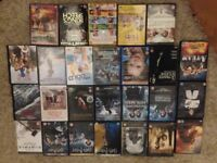 28 Bulk bundle DVD films certificatle 12 movies indoor game toys night in box sets