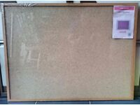 Cathedral Cork Memo Notice Board with Push Pins | 60cm x 80cm