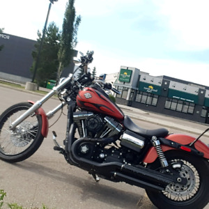 2011 wide glide 585 cams loud and bad ass custom powder coating