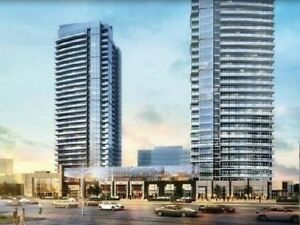 Brand New 1+1 Bed  In Woodbridge Centro Square, Steps to subway