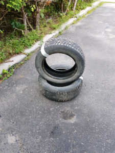 205/55/16 winter tires without rims for sale