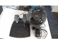 XBox Sidewinder Force Feedback Wheel and Pedals