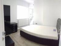 En suite double bedroom to rent very modern refurbished house