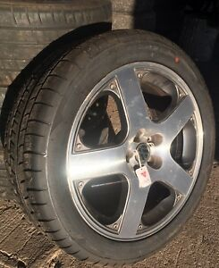 VW Rims and Tires 225/45R17 5x112