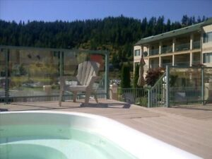 summer rental in Sicamous 1/1, sleep 6, $1200/week