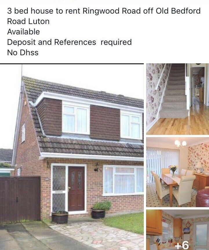 Brilliant 3 Bedroom House To Rent Old Bedford Road Area In Luton Download Free Architecture Designs Lukepmadebymaigaardcom