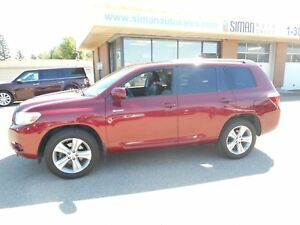 2008 Toyota Highlander V6 Sport Sport Leather
