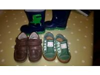 baby/toddler boys size 4.5 shoes and boots