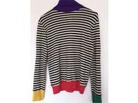 Sonia Rykiel wool turtleneck jumper New