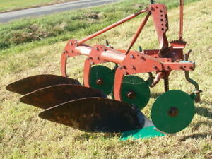 3 Furrow Kverneland Plow For Sale