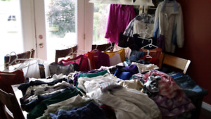Selection of Ladies  size 5x Spring Summer Fall  Winter clothes