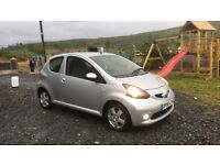 Toyota aygo (cheap insurance and road tax)