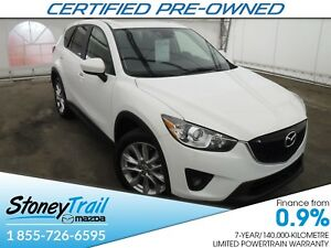2015 Mazda CX-5 GT - MAZDA CPO! TECH PKG! NAV! REMOTE START! ONE