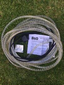 Outdoor / indoor rope light 10 meters