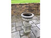 Victorian Urn & Pedestal £100 ono