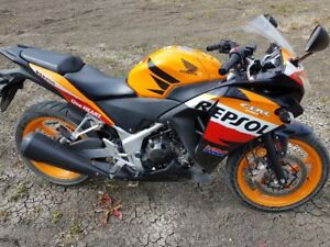 **Reduced** 2013 Honda CBR250R Repsol Edition With ABS