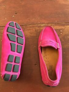 Mercanti Fiorentini moccasins (size 6.5, pink suede)