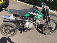 140cc pit bike ( not cr, ktm, yz, rm )