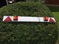 4ft lighting board for trailer/cycle carrier