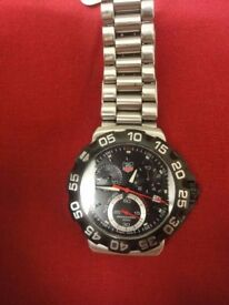 Gents Tag Heuer CAH111P FORMULA ONE on stainless steel strap great condition with box