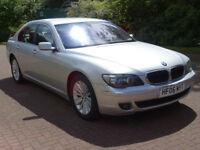 BMW 7 SERIES 3.0 730D SE 4d AUTO 228 BHP LEATHER TRIM, MOT MARCH 2018 SAT NAV, SERVICE RECORD,