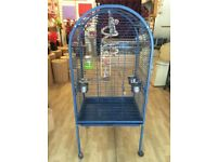 LARGE CAGE WITH TOYS FOR SALE