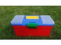 Tool box - small multi-coloured