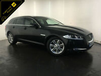 2013 JAGUAR XF LUXURY SPORTBRAKE AUTO DIESEL 1 OWNER SERVICE HISTORY FINANCE PX