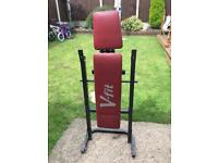 V fit weight bench
