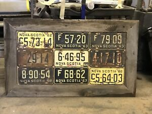 Licence plate display
