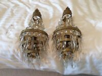 Very Old Pair of Wall Lights