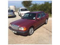 1992 K MERCEDES-BENZ 190E 2.0 AUTO MODERN CLASSIC CAR CHEAP IDEAL FOR EXPORT