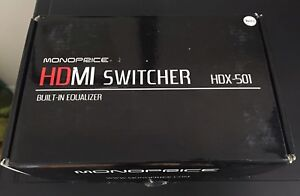 HDMI SWITCHER IN BRAND NEW CONDITION !!!
