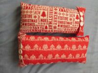 Christmas Cushions, selling as a pair