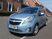 CHEVROLET SPARK 1.2 LS, ONLY 29,OOO MILES, VERY CLEAN, SERVICE HISTORY,4 DOORS