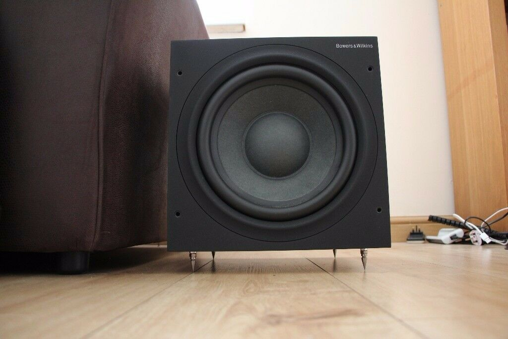bowers wilkins asw610 subwoofer b w asw 610 sub better than 608 and 500 in cherry. Black Bedroom Furniture Sets. Home Design Ideas