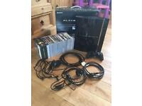 Boxed 60GB PS3. Plus games, controller and leads