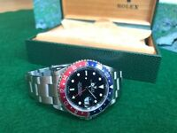 Rolex GMT Pepsi 2002 full set Rolex papers and service