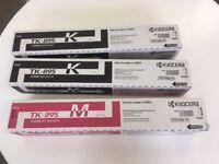 Kyocera Toner Cartridges KYOTK895K KYOTK895M