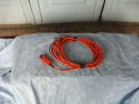 Hedge trimmer, cable
