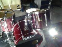 Yamaha Stage Custom Advantage Drum Kit.