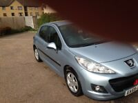Peugeot 207 £30 tax 11 months mot 1.4 diesel very cheap reliable car only been used for short journe