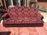 Sofa settees in excellent condition