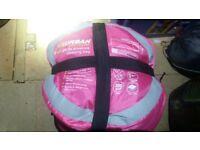 Pink adult sleeping bag