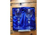 Royal Scot 2 glass crystal gift set