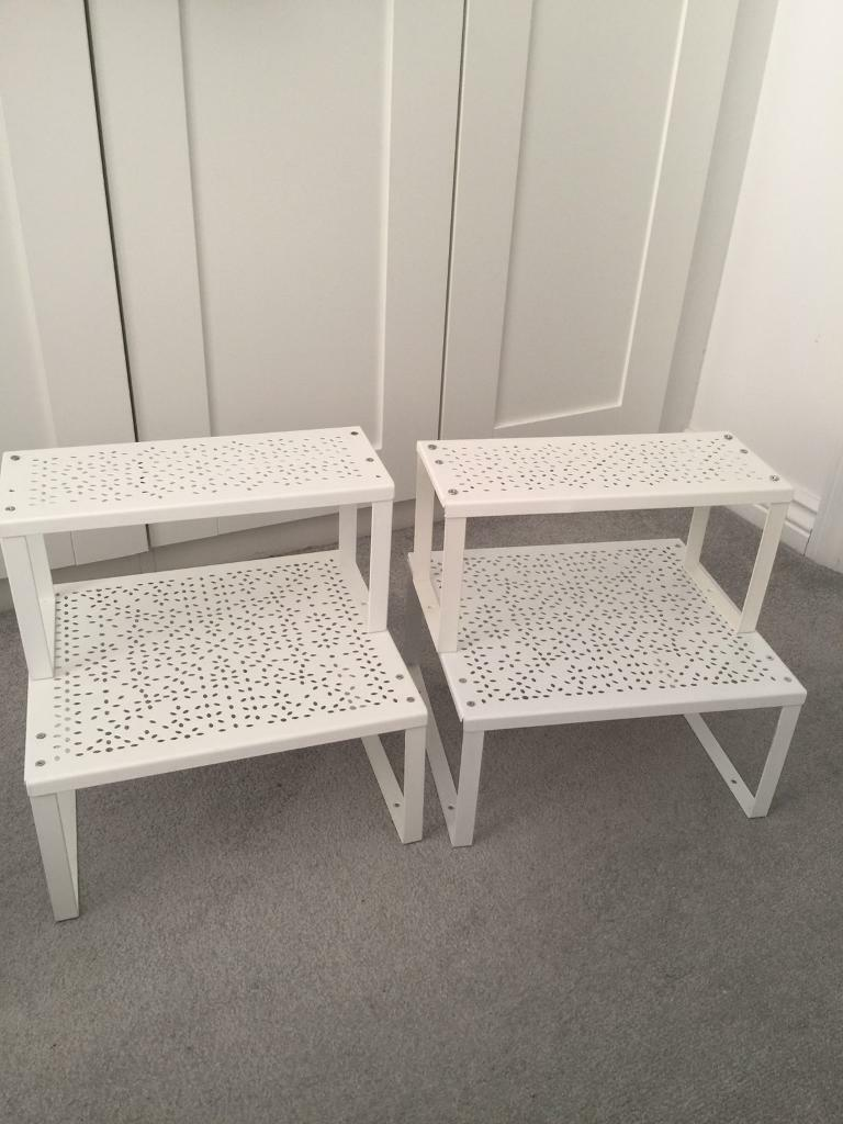 IKEA variera shelf insert x2 large shelves & x2 small