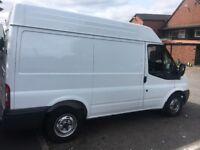 Man with van delivery service van hire