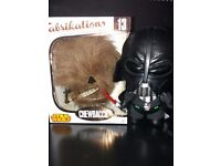 Star wars funko fabrications darth vader and chewbecca